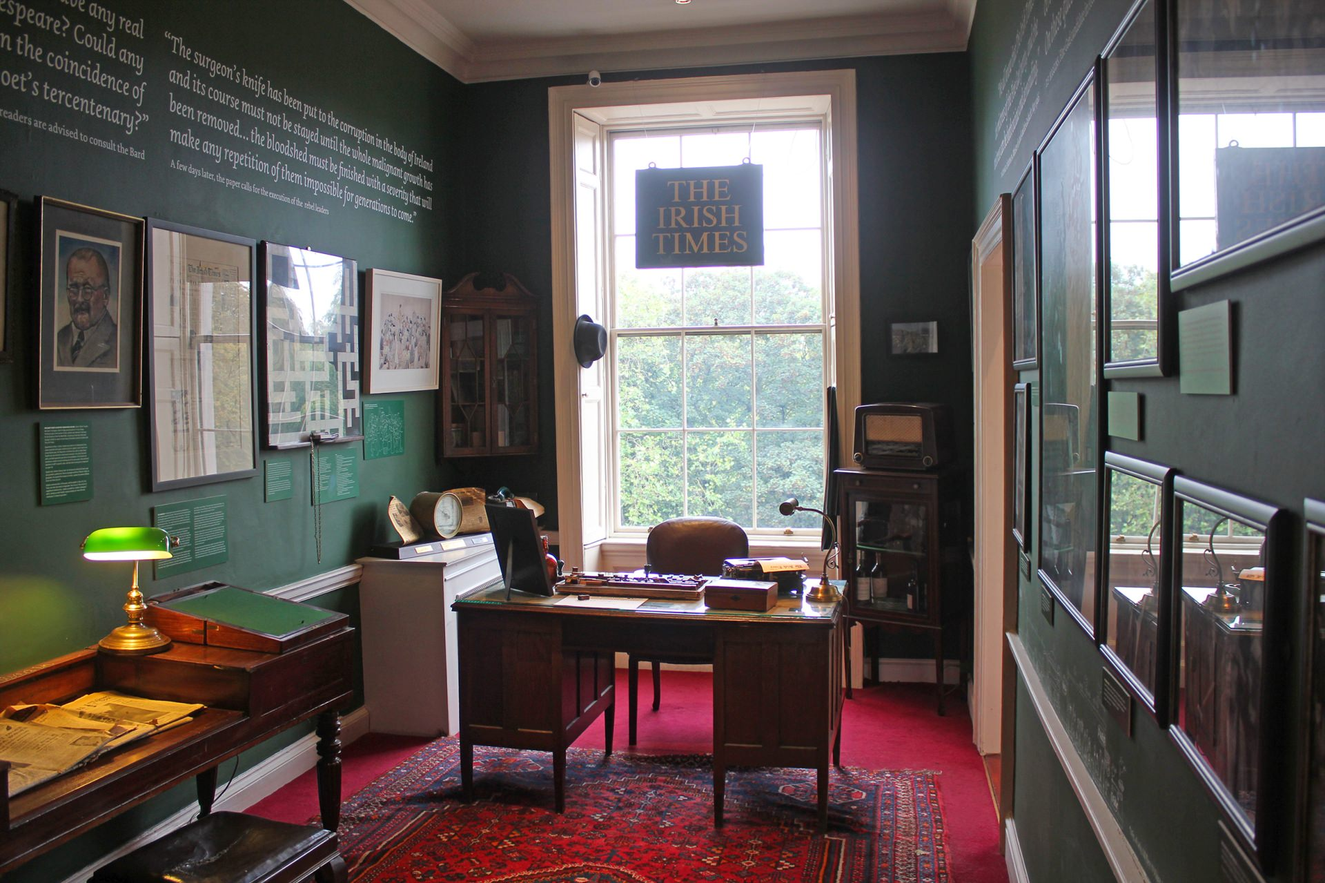 little museum irish times raum